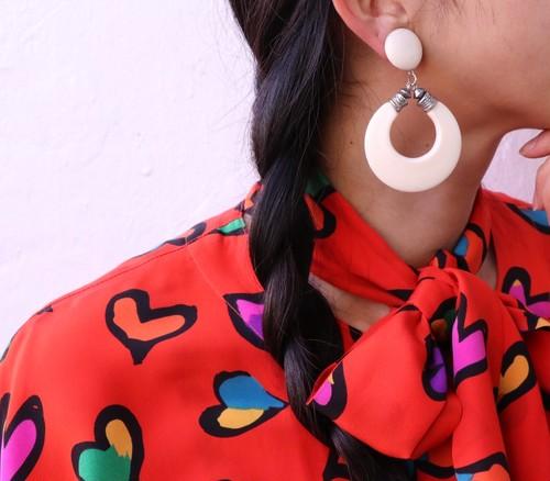 dead-stock vintage earrings