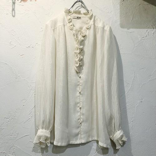 (PAL) glitter stripe l/s blouse