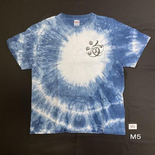 こころMoji×藍染Tシャツ(M5)