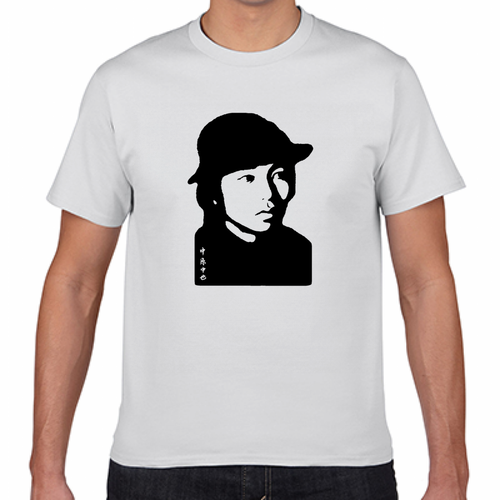中原中也 昭和 詩人 歴史人物Tシャツ092
