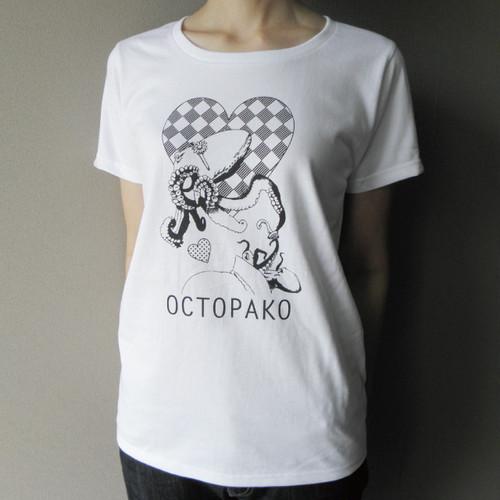 夏の恋 オクトパ子Tシャツ