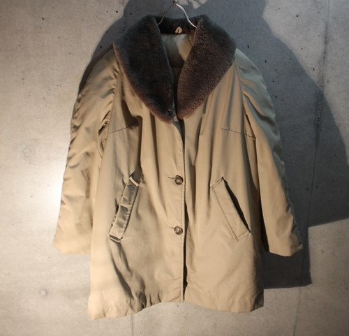 70s BAUER DOWN Boa Coat