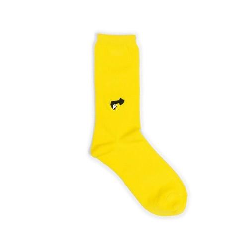 【made in Japan】materi くつした(ミズノマサミ)Going(yellow)
