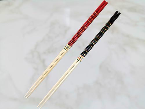竹製 「カブキ菜箸 36cm すべり止め付き」 ポストIN発送対応商品