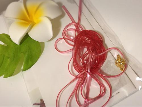 ラメルヘンブレイドブレスレット作成キット:ピンク