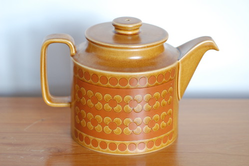 Hornsea Saffron Tea Pot 3900yen