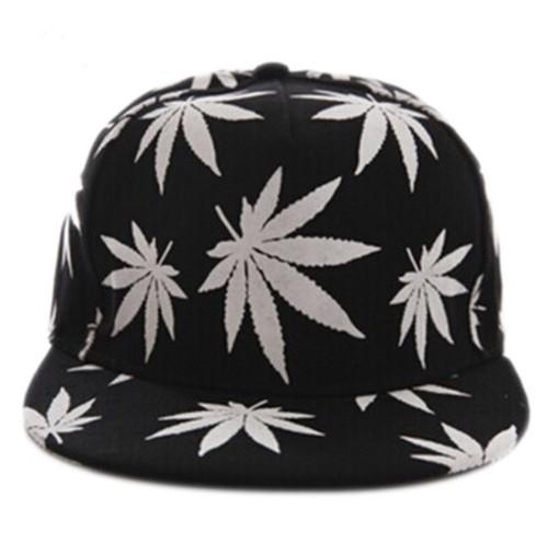 蓄光 大麻 マリファナ キャップ