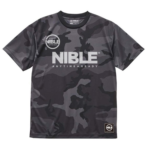 Nible Dry Athletic T-Shirt / Camo Black