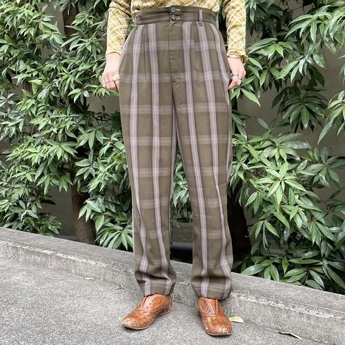 (LOOK) check pants