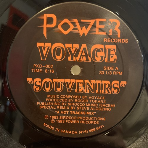 Voyage - Souvenirs (Hot Tracks Remix)