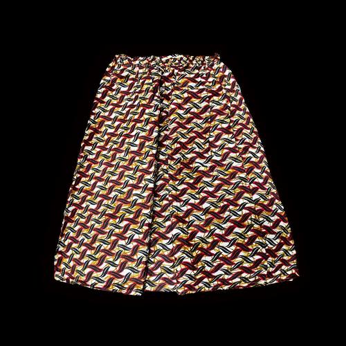 アフリカ柄 ロングスカートB