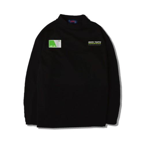 IC CARD L/S TEE / BLACK