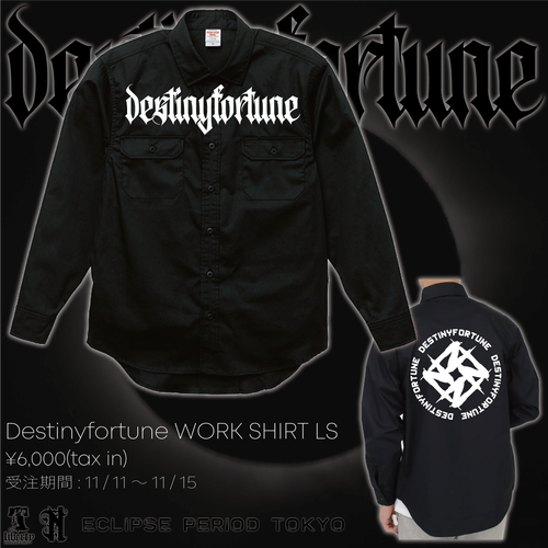 Destonyfortune WORK SHIRT LS