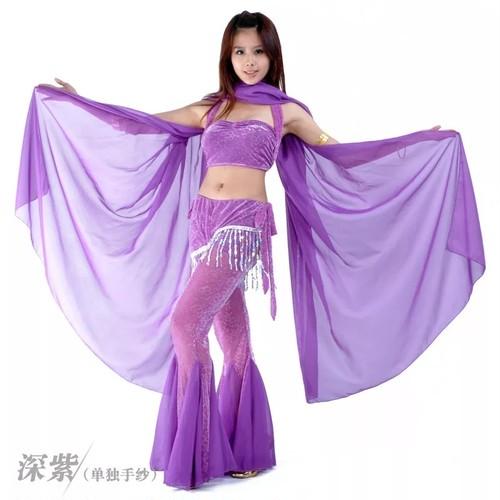 ベリーダンス中古高品質の女性安いシフォンセリーダンスベール