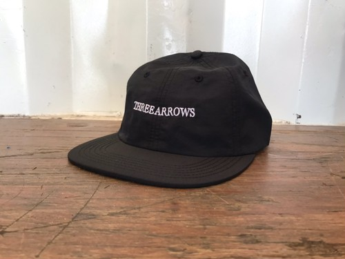 THREEARROWS LOGO CAP (black)