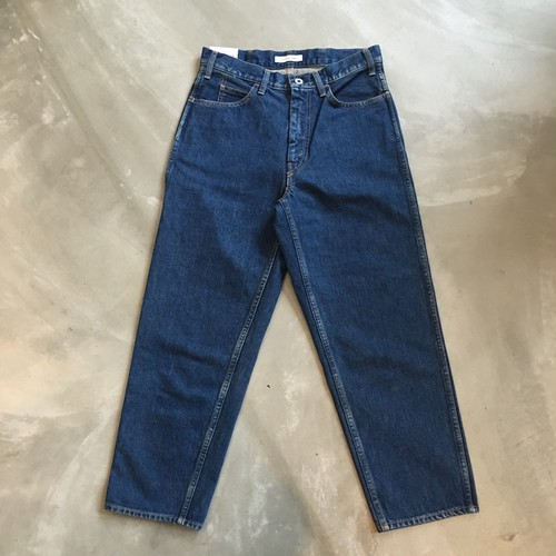 LIVING CONCEPT 5POCKET WIDE TAPERED DENIM PANTS