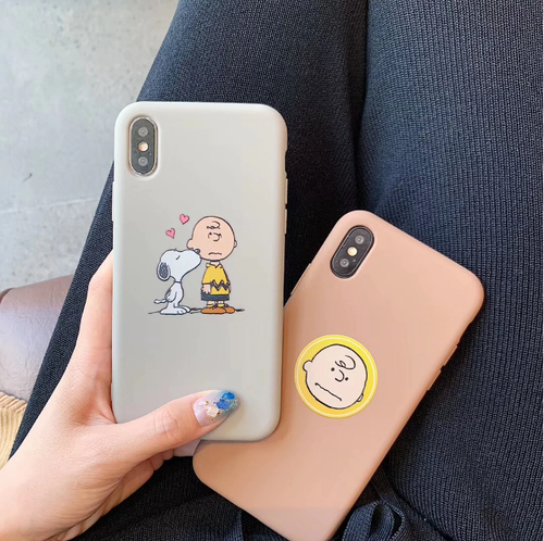 【オーダー商品】 Cute boy soft iphone case