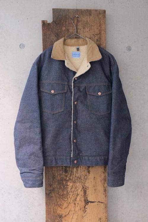 vintage/marine snow boa denim jacket.