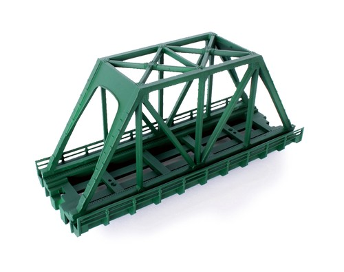 R089 単線トラス鉄橋(短) 緑