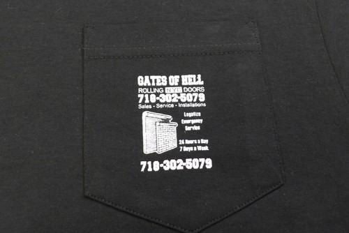GATES OF HELL POCKET S/S TEE