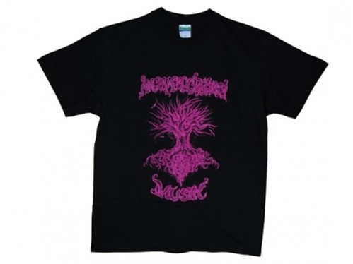 """""""MUSIK""""Tシャツ 「黒×ピンク」 / ANGRY FROG REBIRTH"""