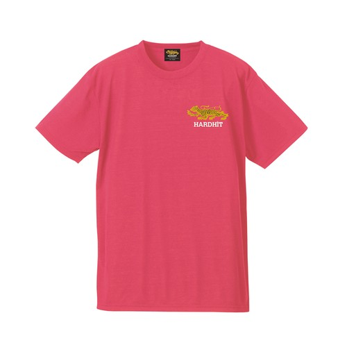 HH BONE CRUSHERS DRY COTTON TEE / FLAMINGO PINK