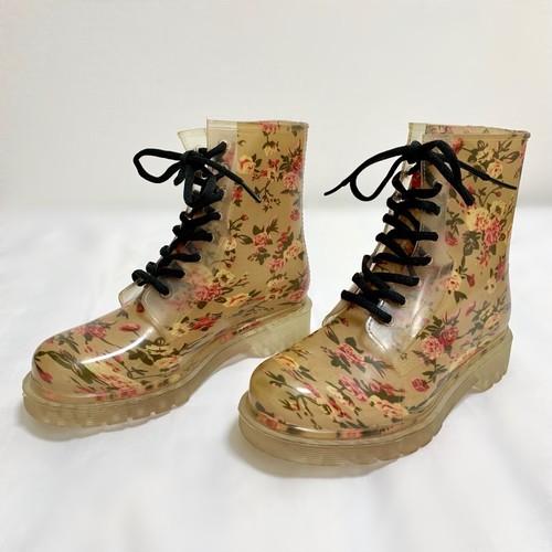 Dr. Martens Style Rubber Boots (24cm)