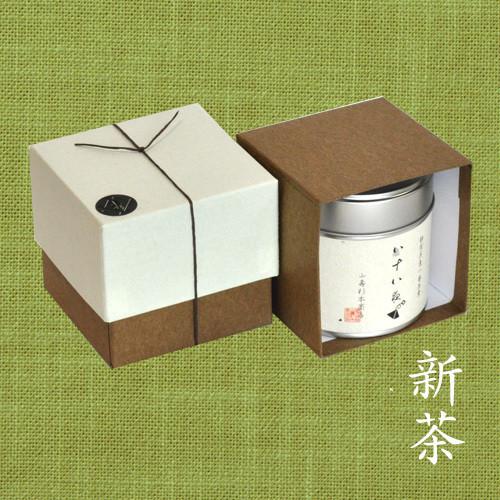【新茶】八十八夜の茶ティーバッグ 小缶1本箱