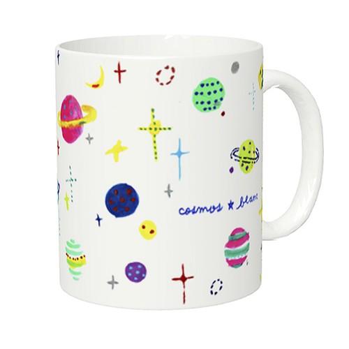 マグカップ「白い宇宙 / Cosmos Blanc」