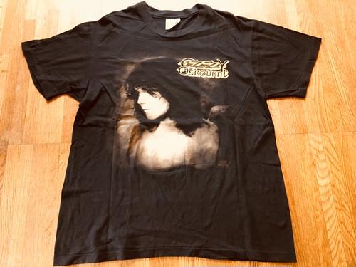 ozzy osboune オジーオズボーン HANES OLD シングルステッチ 1991-92 シアターオブマッドネス ツアー Tシャツ メタル ハードロック