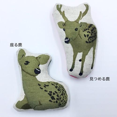 鹿のマグネット(2種)/神の遣い・信仰の生き物