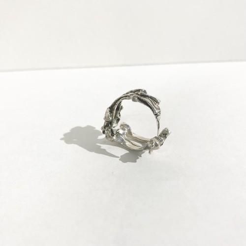 蝕 カラス / silver 【ego.】