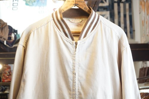 late 50's McGREGOR cotton zip-up Jacket