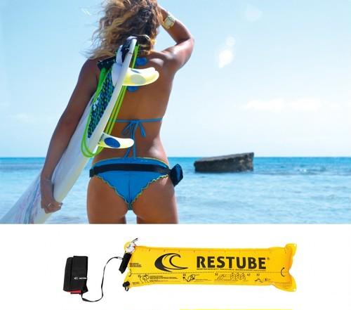マリンスポーツの安全対策アイテム「RESTUBE(レスチューブ)」