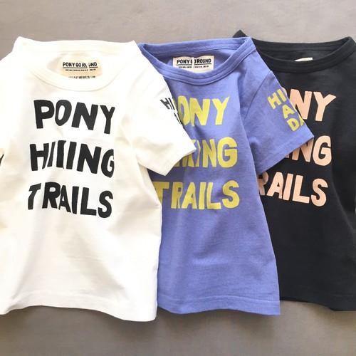 pony go round hike s/s tee xs~xxl