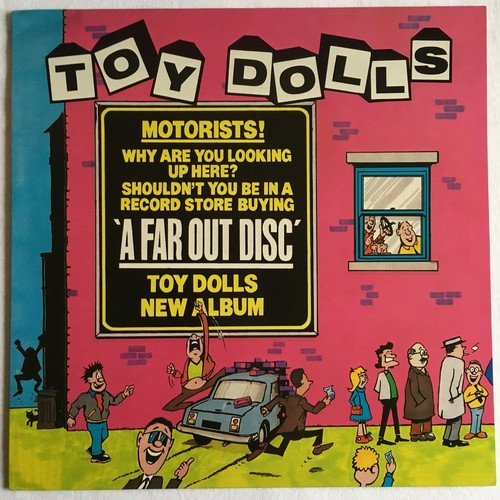【LP・英盤】Toy Dolls / A Far Out Disc