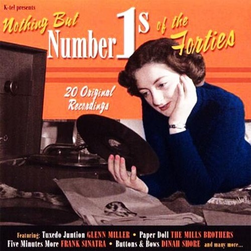 CD 「Nothing But Number 1's Of The 40's  /  V.A.」