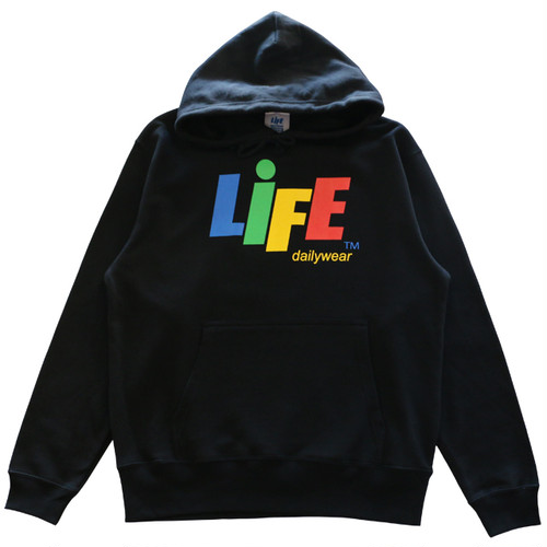 CANDY LOGO PULLOVER HOODY TYPE-1 / LIFEdsgn