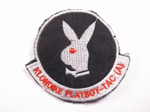 "OLD PATCH""KLONDIKE PLAYBOY TAC (A)"""