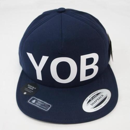 YOB  SNAP BACK CAP  Navy