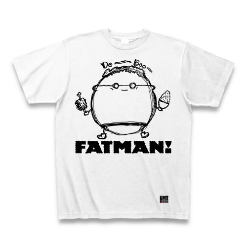 FATMAN Tシャツ(ファットマン手書き風Ver)