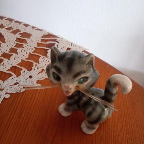 ゲーベル Geobel  猫 置物