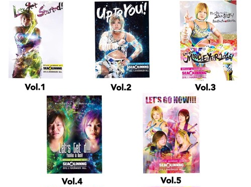 SEAdLINNNG official Book vol.1~vol.5