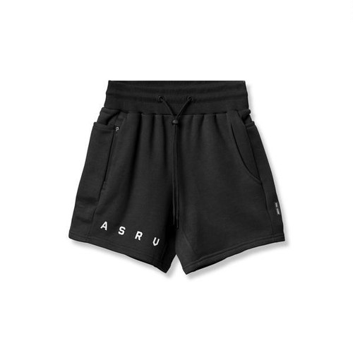 【ASRV】フレンチテリー スウェットショーツ - Black