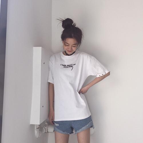 Retro Women T shirt Summer 738