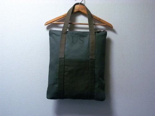 50S60S U.S.MILITARY ORIGINAL HELMET BAG-CONMER ZIP-