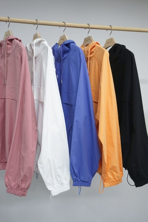 予約注文商品 デイリージップアップアノラック アノラック  韓国ファッション