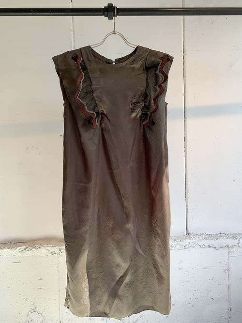PONTI WONDER THRED DRESS (Olive)
