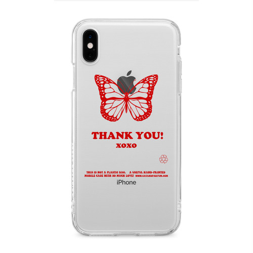 Thank You Clear TPU iPhone Case