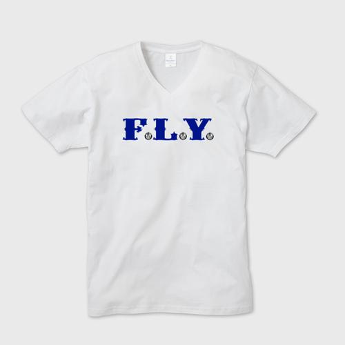 F.L.Y. V-Neck T (BLU)